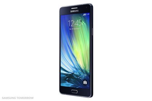The Samsung Galaxy A7.