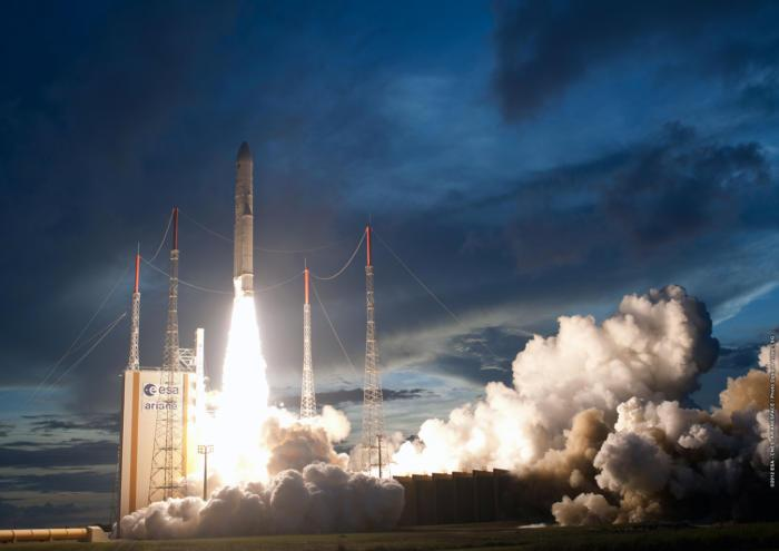 Credit: ESA - CNES - Arianespace / Photo Optique Video CSG