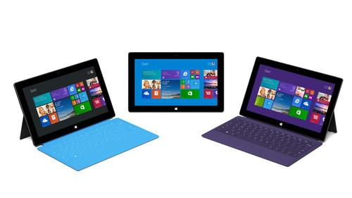 Microsoft's Surface 2 and Surface Pro 2 tablets