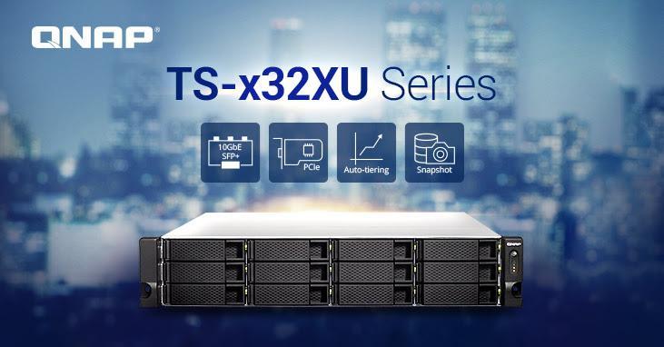 Computex 2018: QNAP refresh SMD NAS lineup with TS-x32XU Series - PC