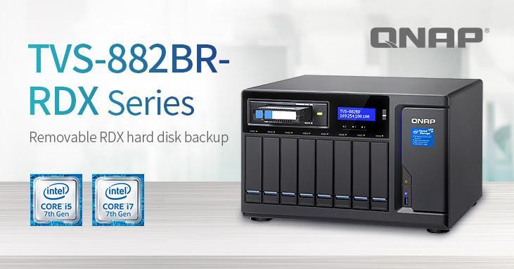 QNAP introduces new TVS-882BR-RDX - PC World Australia