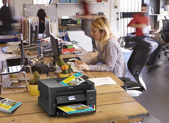 Sick and Tired of Changing Printer Cartridges? Epson's New EcoTank
