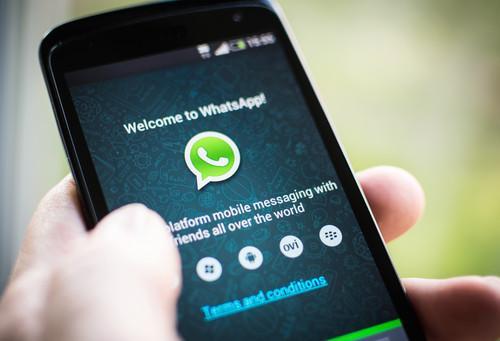 WhatsApp on iOS