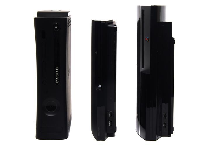 In Pictures Ps3 Vs Xbox 360 Elite Vs Ps3 Slim