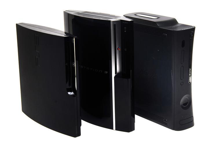 In Pictures Ps3 Vs Xbox 360 Elite Vs Ps3 Slim Slideshow