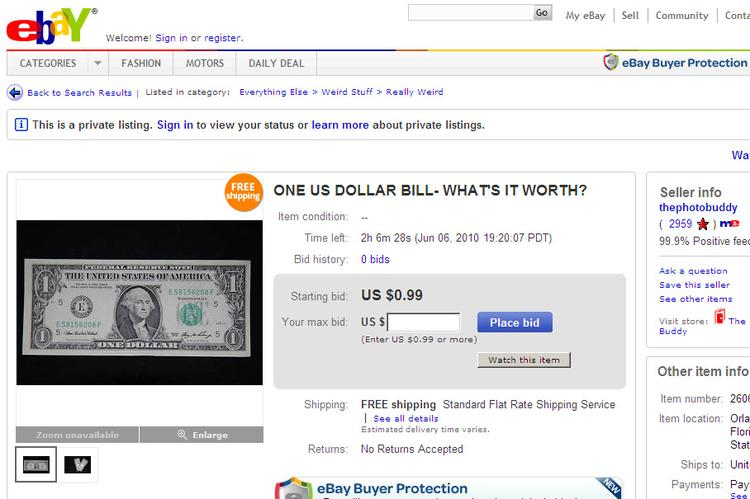 15 Weirdest Ebay Auctions Of All Time