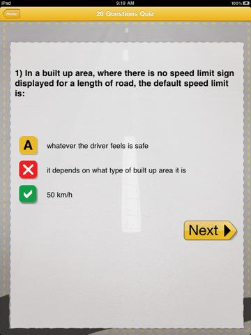 how to pass driver test australia