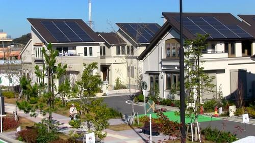 Panasonic Opens Smart Town Targeting Zero Emission Houses