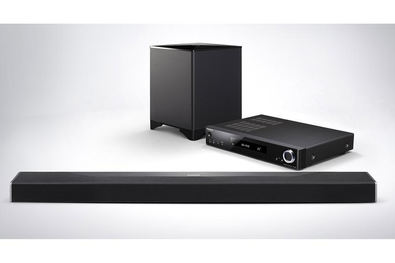 The Guts Of Onkyo S Sbt A500 Sound Bar Come In An External