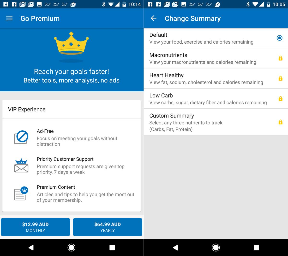 MyFitnessPal app Review: Lose weight by tapping the screen