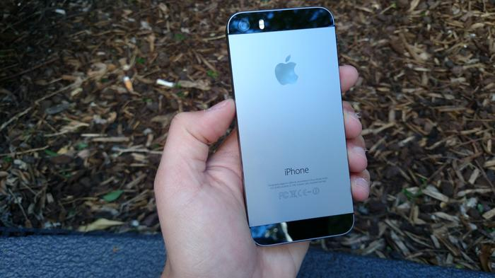 The space grey model is slightly lighter than the black and slate iPhone 5.
