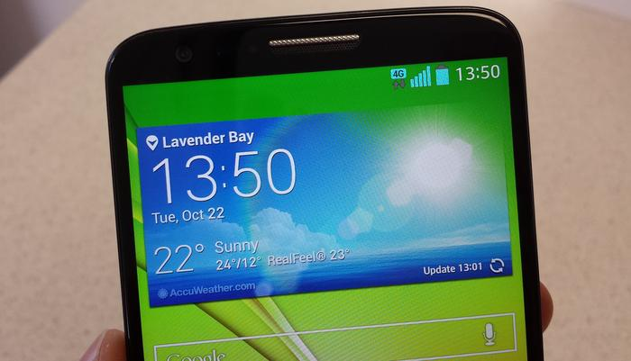 LG G2 Review: The G2 has a great screen and good battery life but