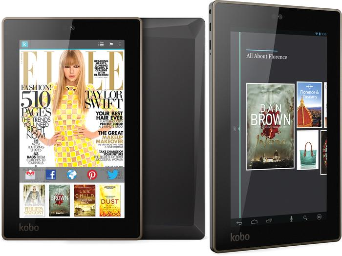 The Kobo Arc 7 and 7 HD tablets.
