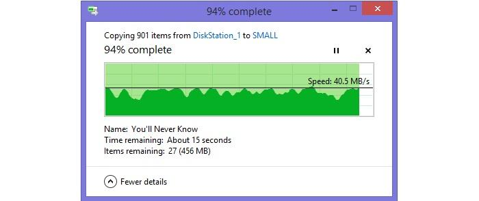 Small file transfer from 2m.