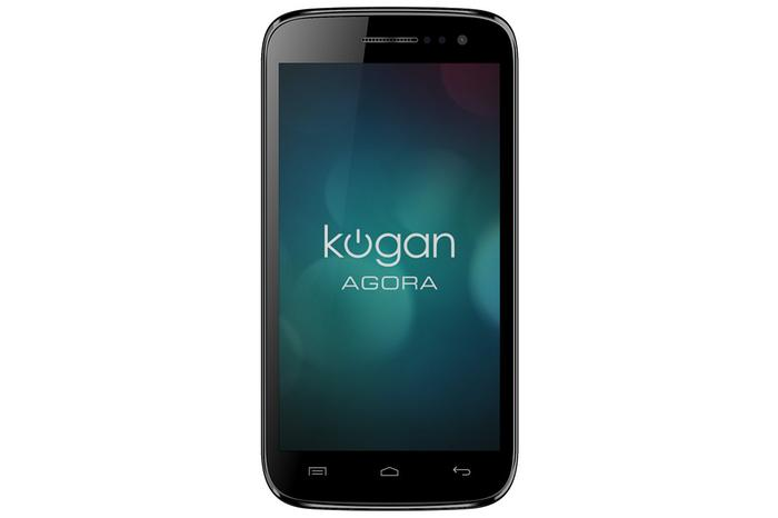 The Kogan Agora 5.0 quad-core Android phone will sell for $199 in Australia.