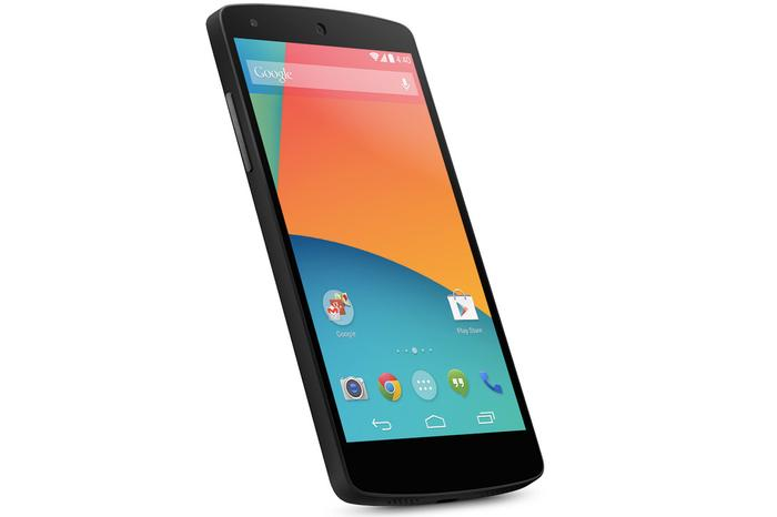 The Google Nexus 5.