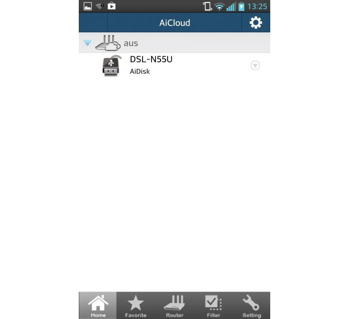 The AiCloud app works with iPhone and Android phones and allows you to log in to your router, or even access other computers on your local network, remotely.