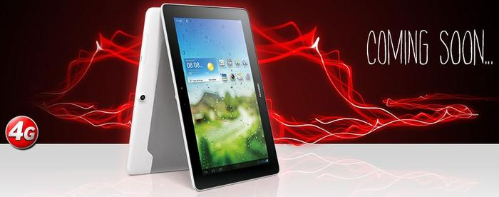 The MediaPad 10 Link 4G as it appears on Vodafone's Web site.