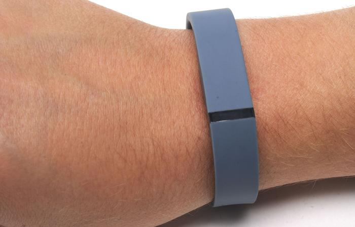 The Fitbit Flex is one of the most basic looking devices we've come across.