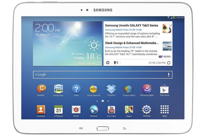 The Galaxy Tab 3 10.1-inch ($399).