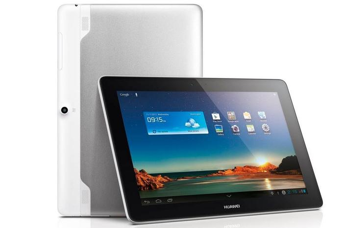 The Huawei MediaPad 10 Link 4G Android tablet