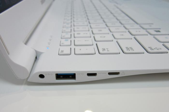 Connectivity is, like the Series 9 laptop the Lite is modelled after, limited.