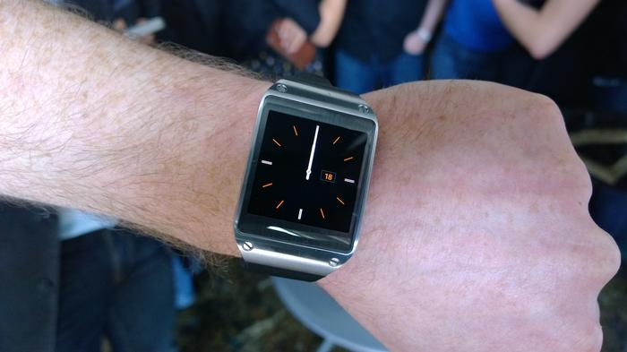 Samsung's Galaxy Gear smartwatch was officially unveiled at a media event in Sydney today.