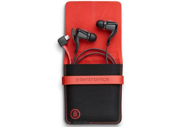 A $129.99 option bundles a charging and storage case with the BackBeat Go 2, pictured above.