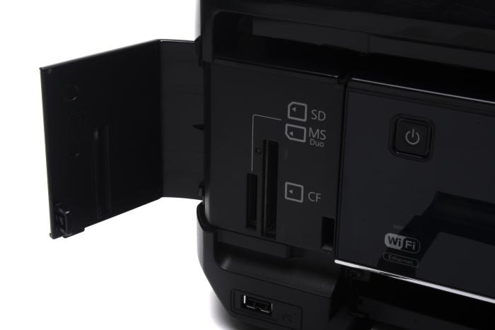 You can print photos directly off memory cards.