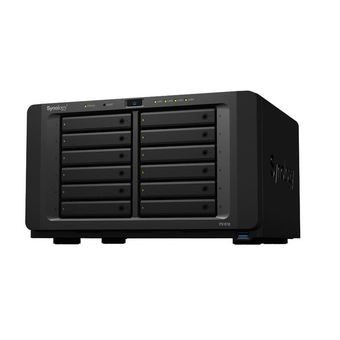 FS1018 is the company's first desktop all-flash NAS.