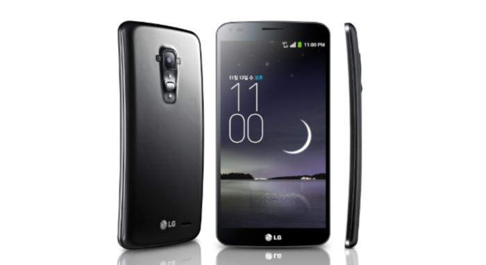 The LG G Flex