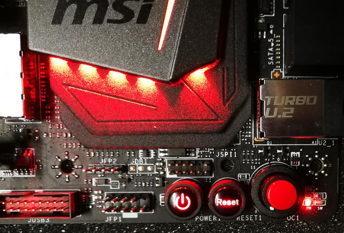 MSI Game Boost Dial... goes to 11.