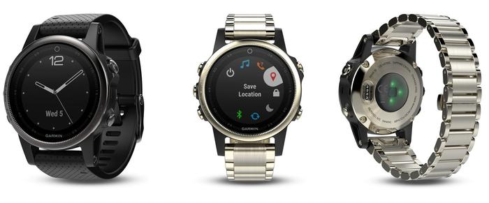 Garmin Fenix 5S watches... get a MUCH better looking watch for a bit more money.