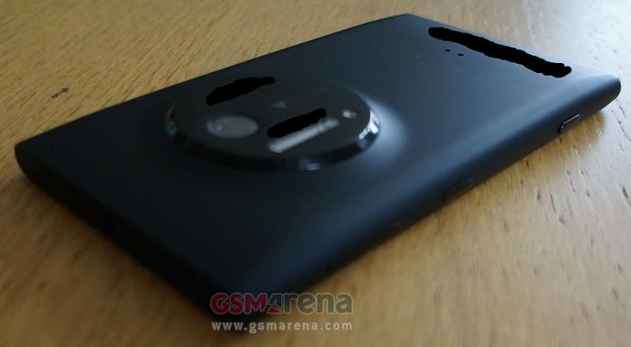 A leaked photo of the rumoured Nokia EOS smartphone (Image credit: GSMArena).