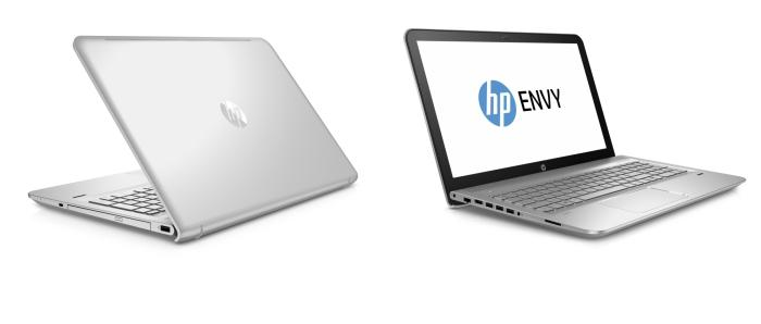 HP ENVY 15 notebook.