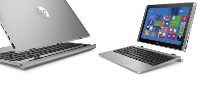 HP Pavilion x2 hybrid tablet.