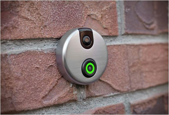 The iDoorCam replaces an existing, hardwired doorbell.