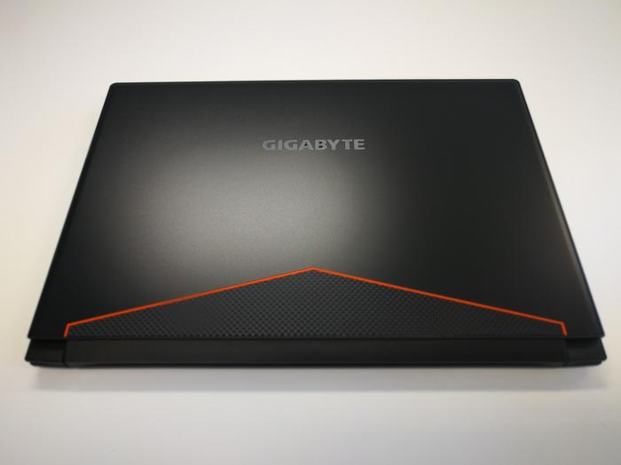 Undeniably stylish, but will the Gigabyte logo impress Rolex and Patek Philippe-wearing potential business partners?