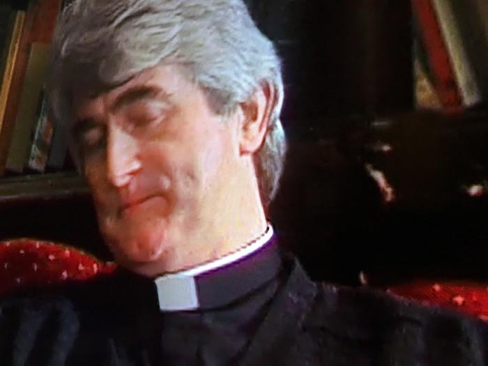 Father Ted is appallingly digitised both on the DVD box set and Netflix. But a few jagged lines is all that appears on the Hisense.
