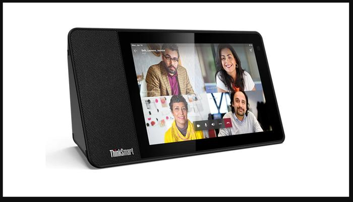 Lenovo's ThinkSmart View, one of a new breed of surprisingly affordable Teams hardware