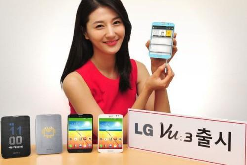LG hasn't given up on the ultra-wide smartphone, as its new Vu 3 handset sports a 4:3 aspect ratio.