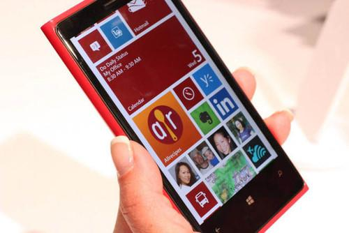 "Lumia smartphones like this Lumia 920 are known for their attractive design, killer camera, and color explosion—none of which screams ""productivity."""