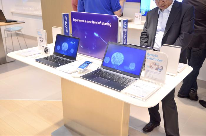 Notebooks, smart cameras and smart TV's will also be sold at the Experience Store.