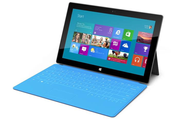 The key feature of the Surface is a magnesium case that's manufactured using liquid metal.