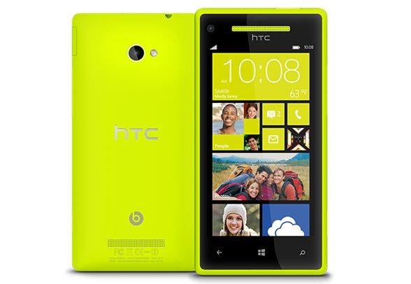 Each colour variant of the 8X will have a matching Windows Phone 8 interface theme to suit.