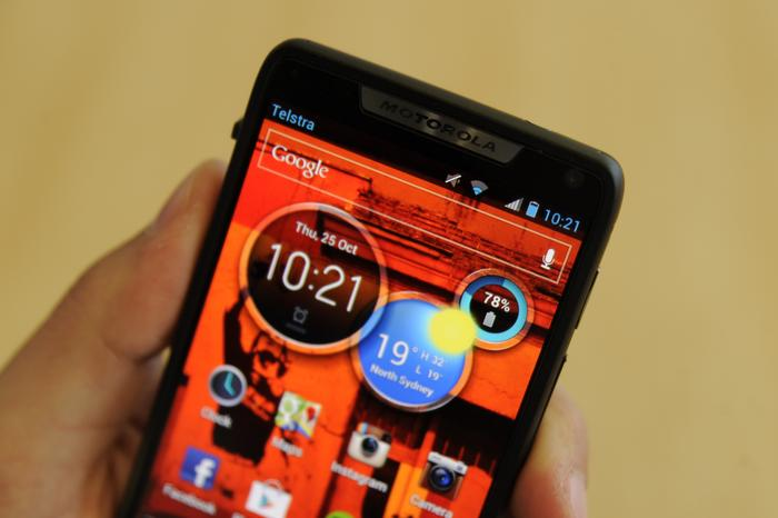The RAZR M doesn't have the same wow factor as larger screened devices, but the screen is hardly a weak point.