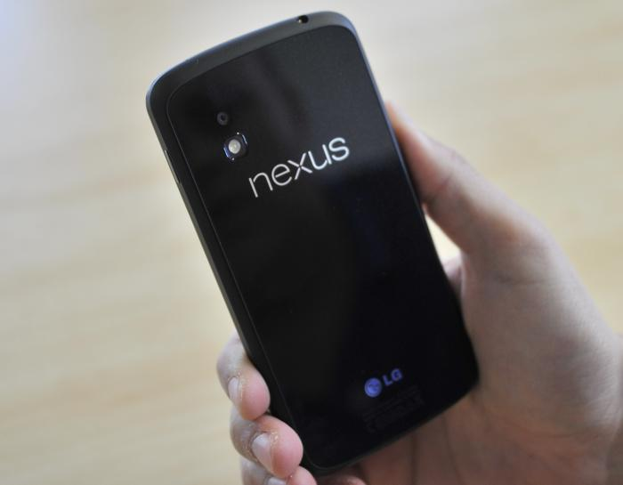 Our Nexus 4 review unit was littered with scuffs and scratches after just a few days of use.