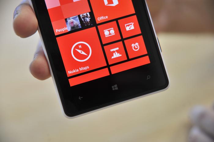 The Lumia 820 can't display the same crisp text as many other devices on the market.
