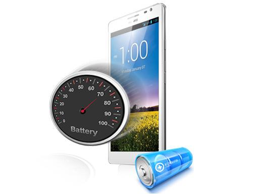 "The Huawei Ascend Mate has a huge 4050mAh battery which the company says will provide up to two days of ""ordinary usage""."