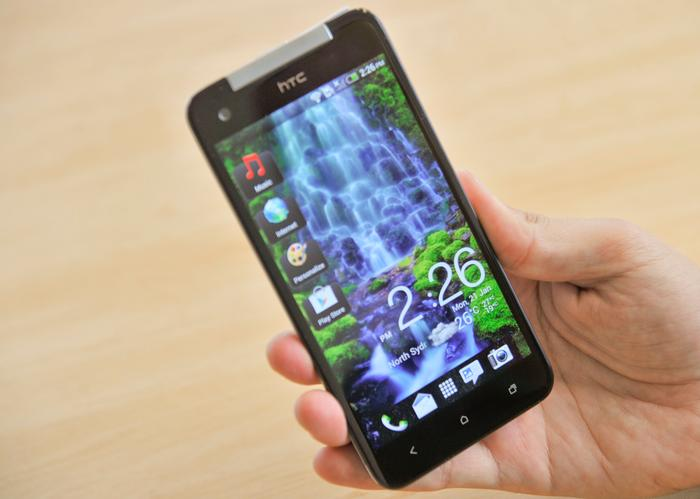 The design of the HTC Butterfly makes a great first impression.
